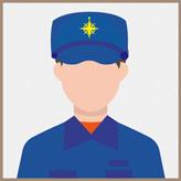 海上保安官 男性